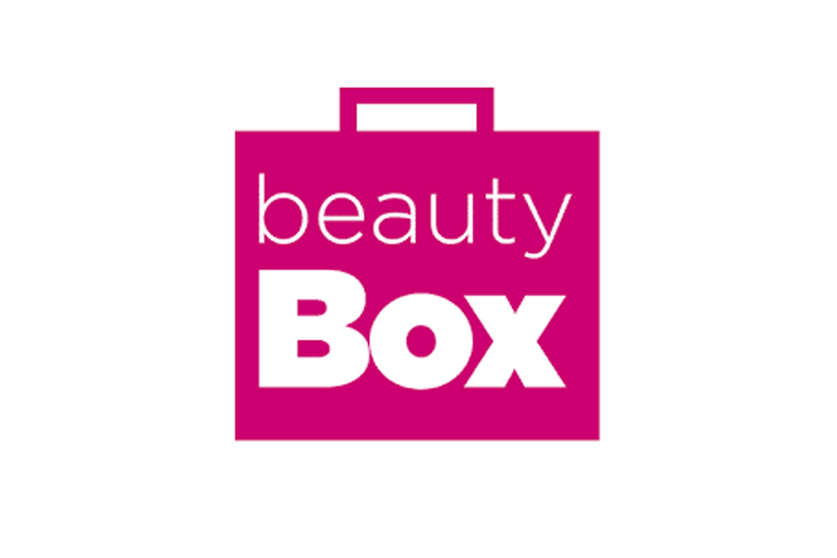 Logotyp för Beauty Box. Copyright Beauty Box.